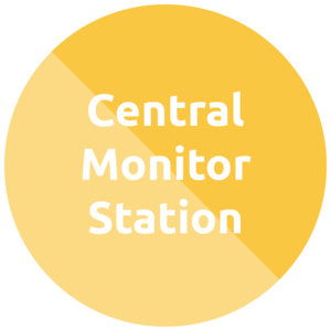 central monitor station
